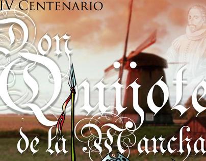 Banner para o 4º Centenário de Don Quixote de La Mancha