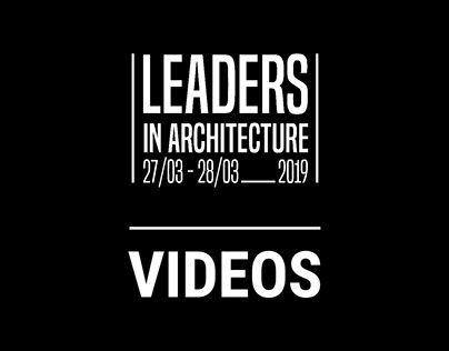 Video Editing. Leaders in Architecture.