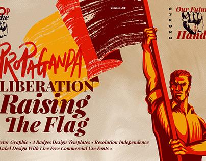 Liberation Raising The Flag
