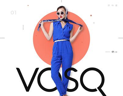 VOSQ e-commerce web-design