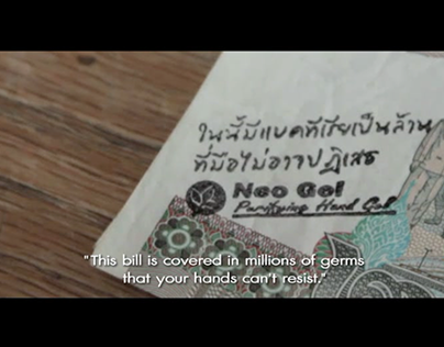 "Neo Gel Purifying Hand Gel ""Filthy Money"""