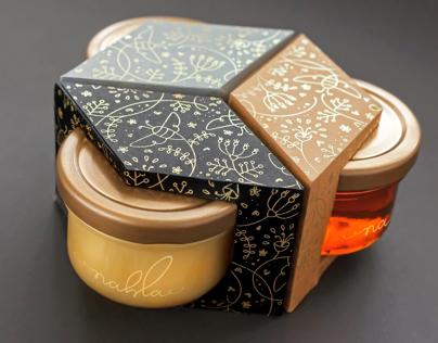 NAHLA Raw Organic Ethiopian Honey