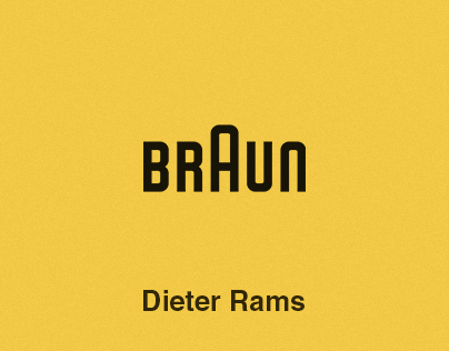 Dieter Rams | Illustrations
