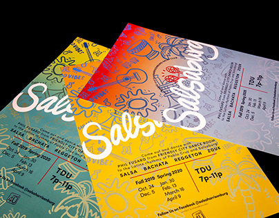 Salsaburg Posters