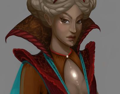 Stone Queen - character design