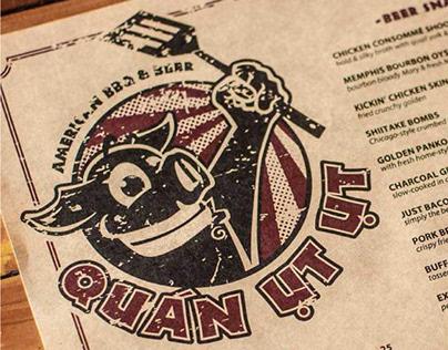 Quán Ụt Ụt Branding Design