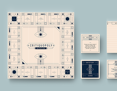 Critiquopoly Board Game