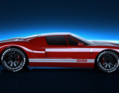 A Class modeling: Ford GT