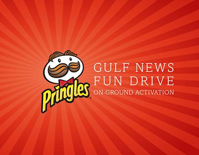 Pringles Gulf News Fun Drive Activation