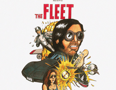 Cover art for The rest of the gang's The Fleet