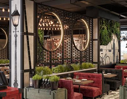 Urban Restaurant Oustanding design concept