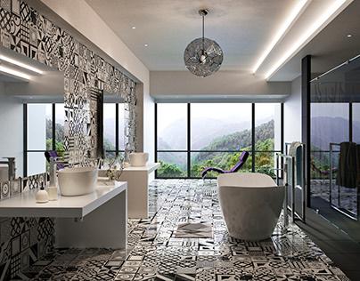 Infinity House Bathroom