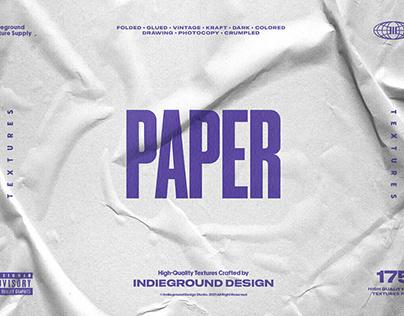 Paper TexturesbyIndieground Design