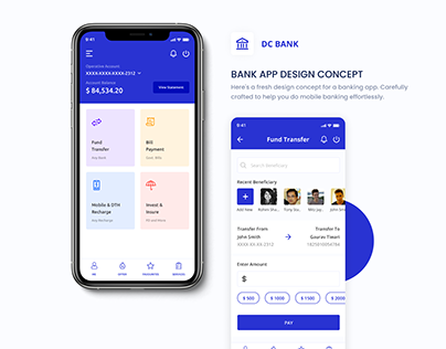 Banking App Design Concept