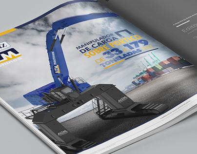 Anúncio Revista Composição de imagem AIZM [2019]