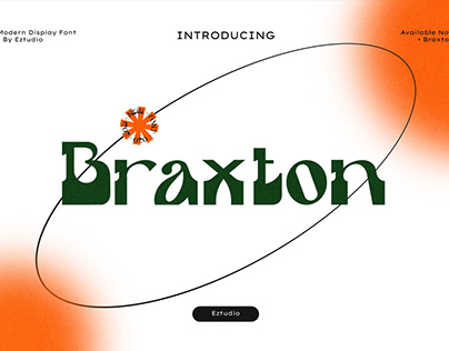 Braxton Display Font