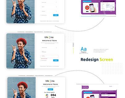 Login Screen Redesign