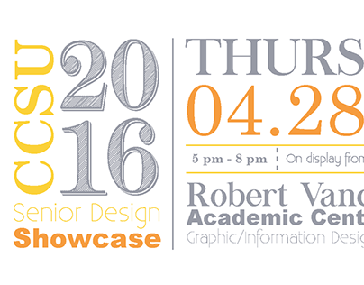 Senior Design Showcase Postcard