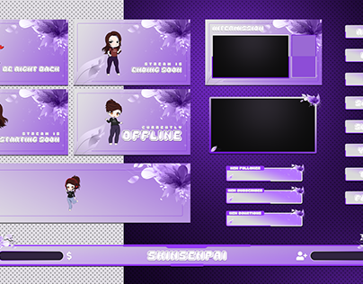 Twitch overlay Design