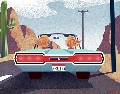 Thelma and Louise, Poster Design