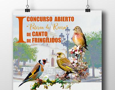 CARTEL CONCURSO FRINGÍLIDOS 2018