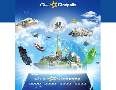 Welcome Mailing Club Cinépolis®