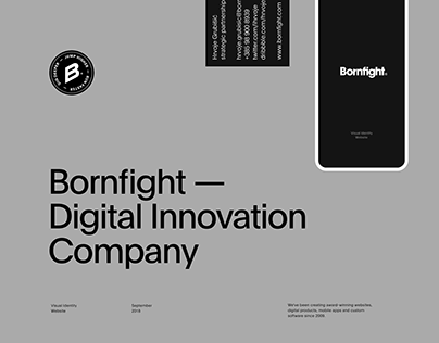 Bornfight — Digital Innovation Company