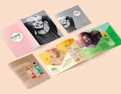 FEMME D'OR® - Brochure - Editorial Design