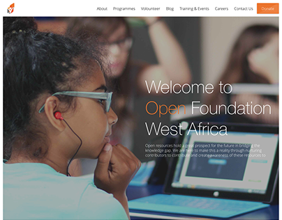 OFWA Website UI Design