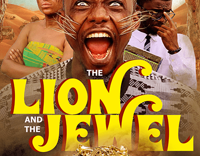 THE LION AND THE JEWEL POSTER