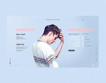 Troye Sivan Website