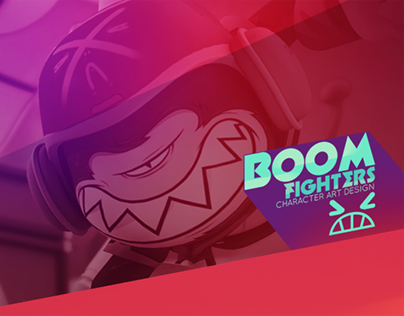 BOOM Fighters - Character Art Design