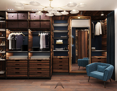 Luxury apartments with dressing room