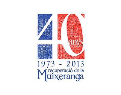 40 anys recuperació Muixeranga