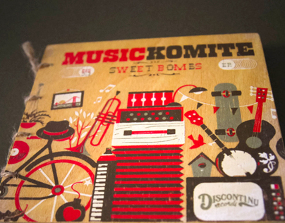 """Music Komite """"Sweet Bombs"""" Limited Edition Making of"""