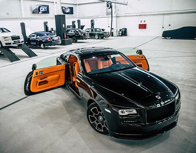 Rolls Royce Spirit of Speed workshop contents
