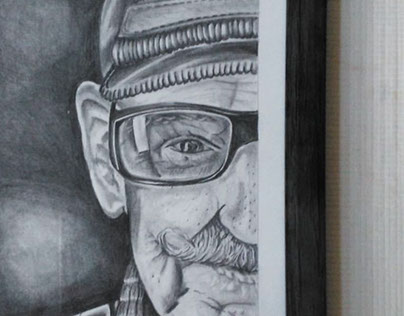 PORTRAIT OF AN OLD MAN - Desenho a grafite