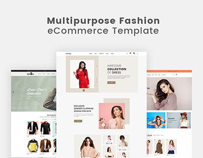 Multipurpose Fashion eCommerce Template