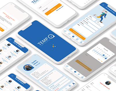 UX-UI Case study Tempo Time Tracking App