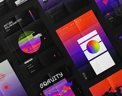 Saitama // Typography & Posters