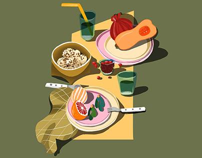 STILLLIFE Illustration