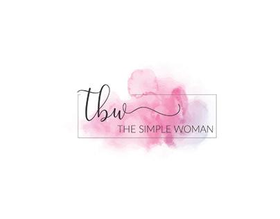 feminine watercolor logo