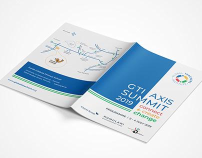 Branding / Marketing Material - GTI Axis Summits