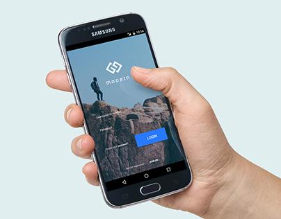 Material Design Mobile App
