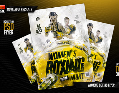 Womens Boxing Flyer