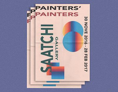 Painters' Painters: Exhibition Design