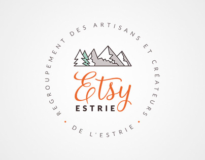 Refonte de logo - Etsy Estrie - RACE