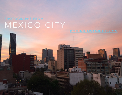 Photographs From Mexico City