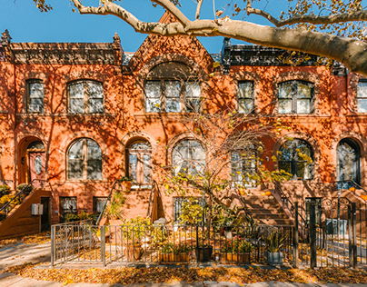 Fall in Crown Heights