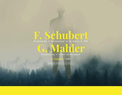 Posters Temporada de Música Clásica 2018 – Filarmed